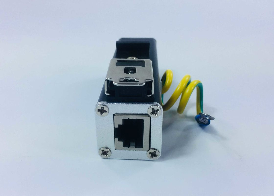 Lightweight Ethernet Surge Protection Devices Rj45 Lightning Arrester For Network Equipment