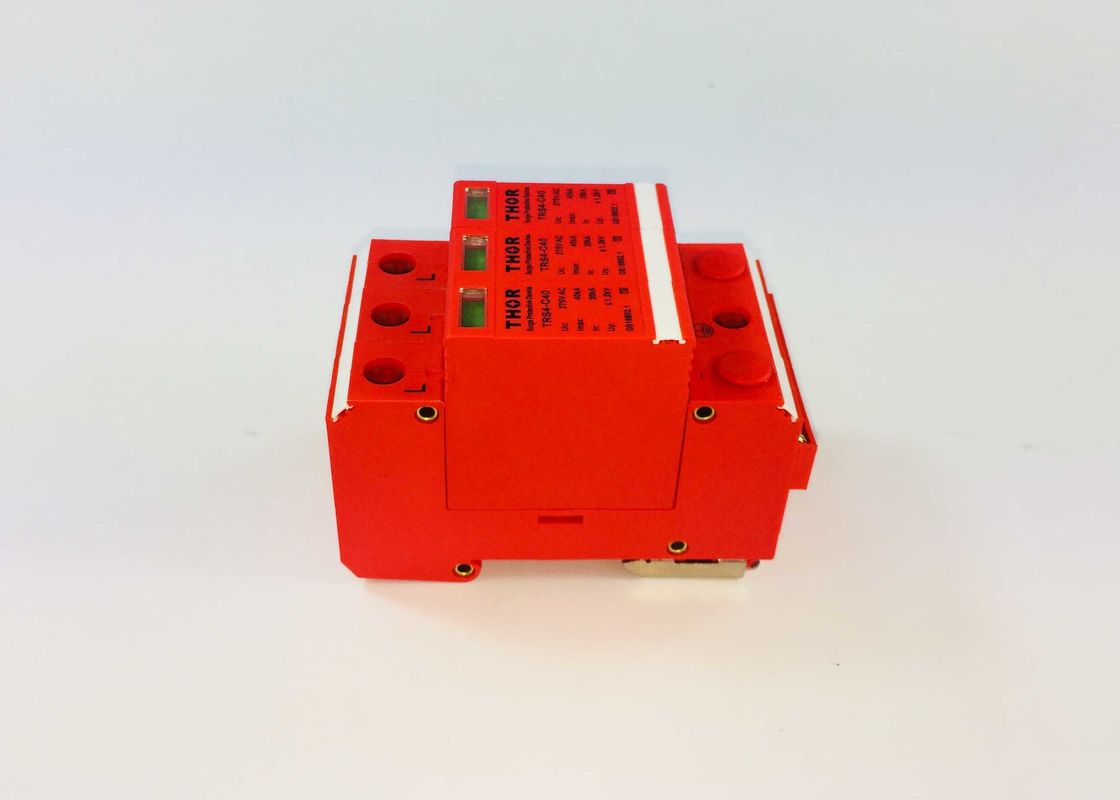 40KA 385v DCElectrical Surge Protection Devices Alarm Indicating Long Service Time